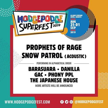 SUPER MUSIC FESTIVAL HODGEPODGE  2019