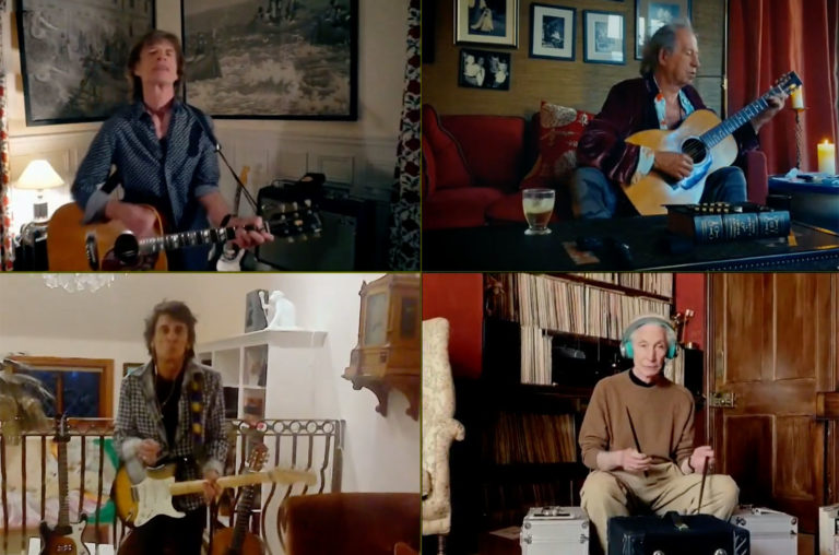 SAKSIKAN ROLLING STONES DALAM PENAMPILAN 'YOU CAN ALWAYS GET WHAT YOU WANT' di 'STAY AT HOME'